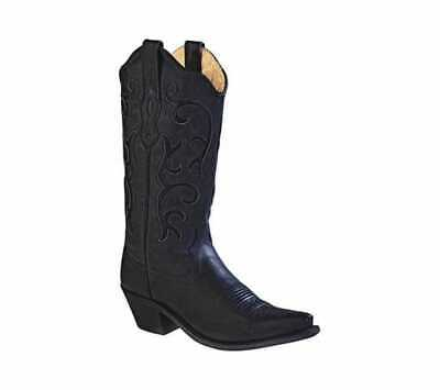 106a1714d2a OLD WEST WOMEN'S 11 Inch Narrow Round Toe Cowboy Boot Tan Canyon ...