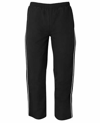 Jb's wear Podium Teamwear Warm up Zip Pants School Kids Sports One Hip Pocket