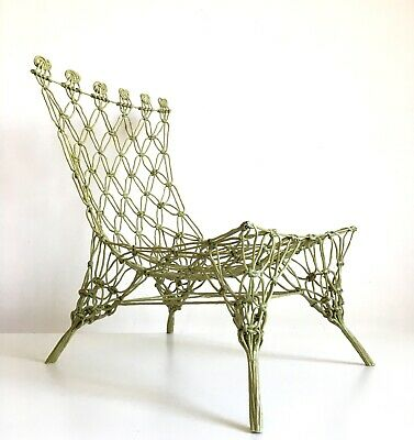 // Knotted Chair Design Marcel Wanders Cappellini 1997 Rare Droog Design