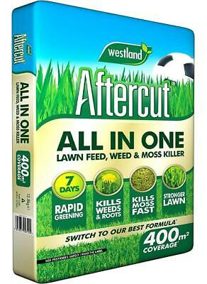 400M² Westland Aftercut All In One Spreader Kills Weeds Moss & Greens