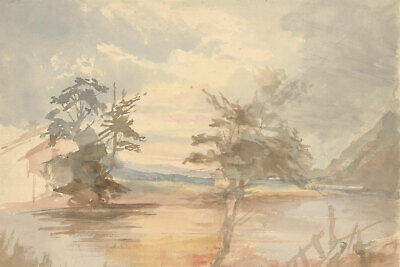 Margaret (Daisy) George - Set of Eight Mid 19th Century Studies and Watercolours