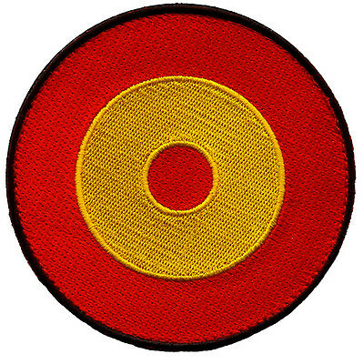 Parche Ejército Aire España Spanish Air Force Military Patch Army Roundel Spain