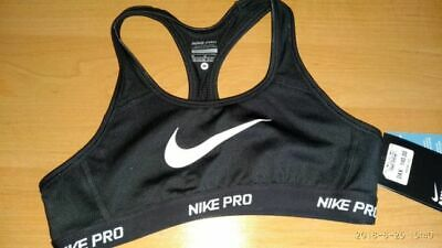 Girls Nike PRO Hypercool Training Bra Size Large (12-13yrs) 826158-010