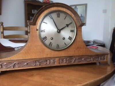 mantle clock  - wood.  Used to chime and work well.  not tested recently