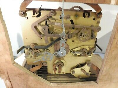 Antique Brass  Westminster & Whittington Chime Clock Movement W.g Pales /schatz