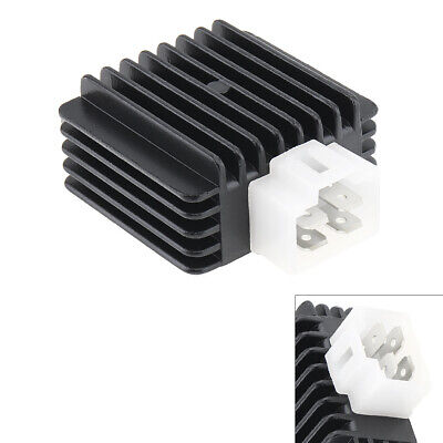 12V 4Pin Motorcycle ATV Voltage Regulator Rectifier For GY6 Motor 50cc to 150cc