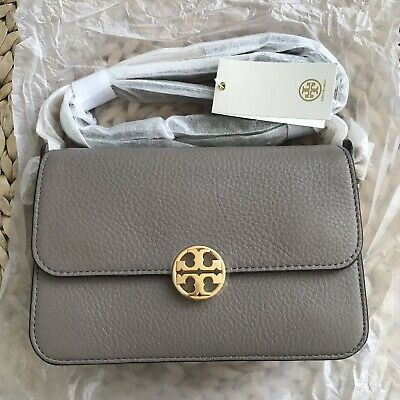 824f9f2458 NWT TORY BURCH Chelsea Slouchy Tote cassic Tan 100% Authentic RSvp ...