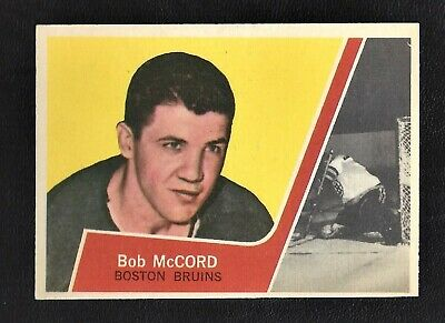 1963 Topps #6 Bob McCord Vintage Boston Bruins NHL Hockey 1963-64