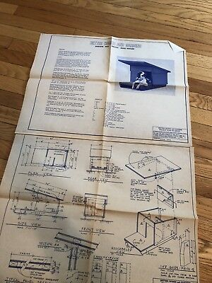 Dog House Woodworking Project Paper Plan