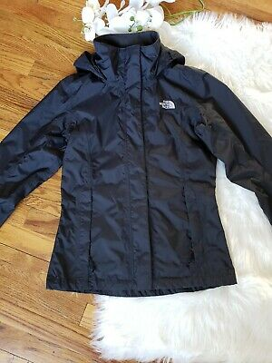 3a17f4904 THE NORTH FACE Women's Dry Vent Windbreaker Jacket Hooded Gray ...