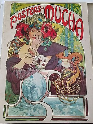 Posters Of Mucha, (20 posters) Intro by Linda Sunshine, Harmony Books NY 1975
