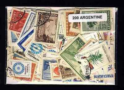 Argentine 200 timbres différents