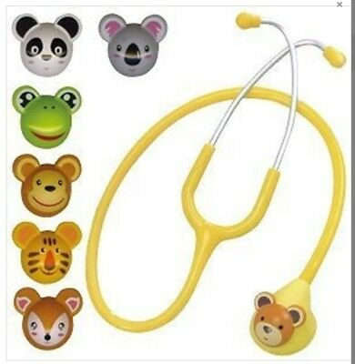 Vet Stethoscope - Spirit 7 changeable animal faces. Coopers Care UK