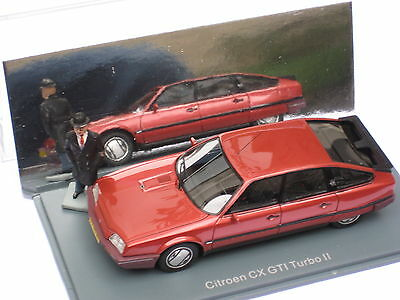 Neo scale models 1/43 Citroen CX GTi Turbo2 red, rouge, rot