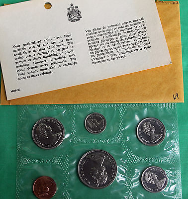 1969 Royal Canadian Proof Like Uncirculated 6 Coin Set *SR2H