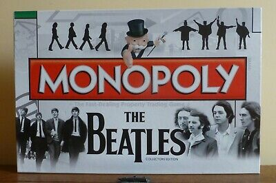 Monopoly The Beatles Collectors Edition Board Game. By Hasbro. VGC 100% Complete