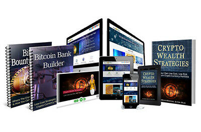 BITCOIN Crypto Currency Wealth Money COLLECTION OF 10 EBOOKS pdf book kindle