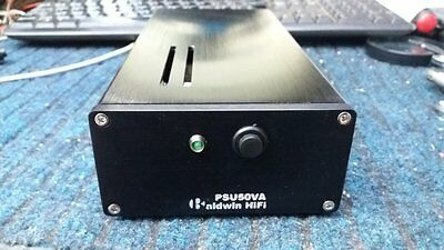 50W Ultra-Low Noise Linear Power Supply HIFI DC Regulated PSU 5V-32V AC Filtered