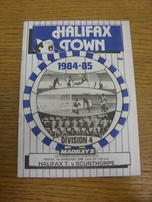 01/02/1985 Halifax Town v Scunthorpe United  . Thanks for viewing this item offe