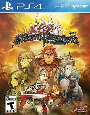 Grand Kingdom NM Complete PlayStation 4 PS4 Game