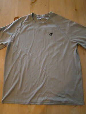 ed03d7b4 Champion Vapor performance Gray T-Shirt - Men's XL - EUC - 100% Polyester