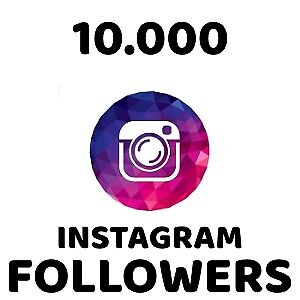 Instagram Services - 10.000 Fo  owers