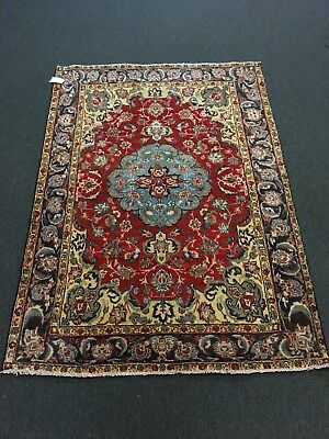 On Sale S.Antique Genuine Hand Knotted Persian Area Rug Traditional Carpet 5x7