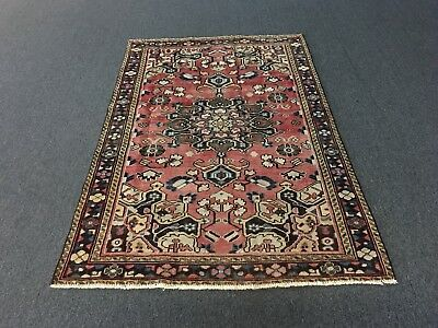 """On Sale Semi Antique Traditional Hand Knotted Persian Mahal Rug Carpet 4'1""""x6'"""