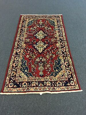 "On Sale Great Beautiful Hand Knotted Mahal -Zanjan Rug Carpet 3'4""x6'1""#3403"