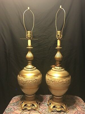 Vintage Hollywood Regency Table Lamp Accurate Casting