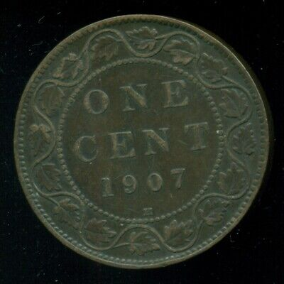 1907H Canada Large Cent, King Edward VII  O51