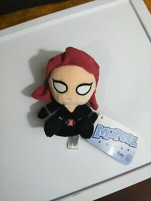 Funko Marvel Mopeez Plush Black Widow Bean Bag Toy New With Tags 2016