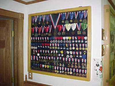 Military Medals, Pins, Ribbons, Medals Display Case Small, Medium, and Large