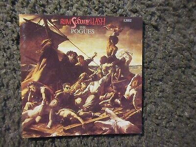 "The Pogues ""rum Sodomy & The Lash"" 1988 German Reissue Ex Out Of Print Cd"
