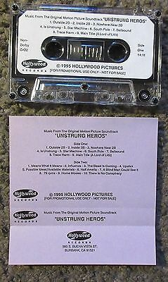 "Thomas Newman ""unstrung Heroes"" 1995 Hollywood Records Advance Promo Ost Tape!"