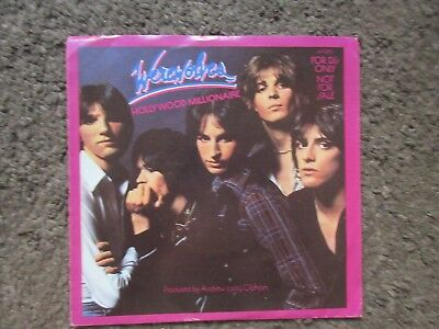 """Werewolves """"Hollywood Millionaire"""" 1978 Stereo/Mono Promo W/Ps Oop 7"""" Nm-/Ex-"""