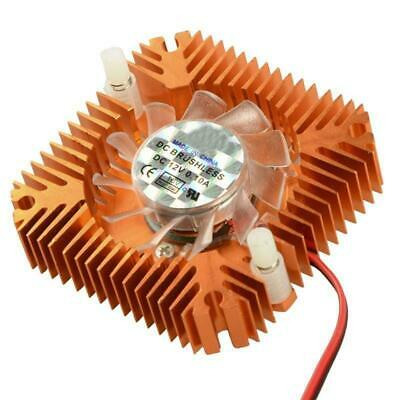 12V 2-Pin 55mm CPU VGA Video Card Cooler Cooling Fan Heatsink Fit For PC Laptop