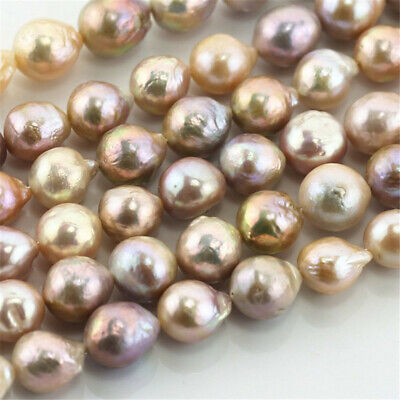 12-13 mm the Mix colour Edison Baroque freshwater pearl irregular classic noble
