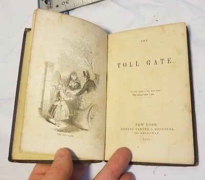1860 The Toll Gate Carters Fireside Library Sunday School St John The Baptist