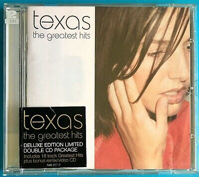 TEXAS: The Greatest Hits [LIMITED EDITION] (2 Disc Enhanced CD Set) Videos/Remix