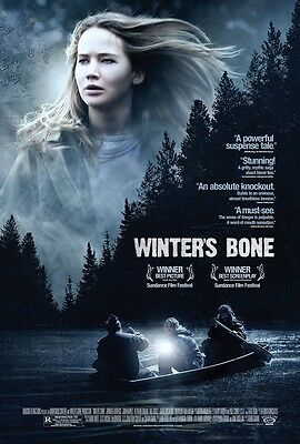 Winters Bone movie poster :  11 x 17 inches - Jennifer Lawrence poster