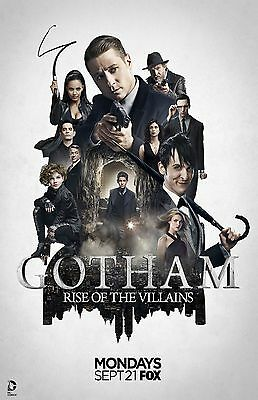 Gotham poster (a)  -  11 x 17 inches
