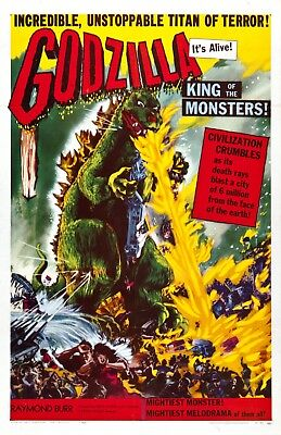 Godzilla King Of the Monsters movie poster  - 11 x 17