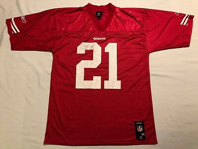 Top FRANK GORE SAN Francisco 49ers NFL Team Apparel Jersey XL #21  free shipping