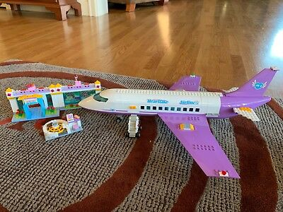 Lego 41109 Friends Heartlake Plane Airport Brand New And Sealed In