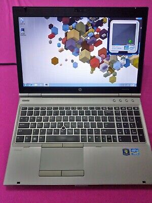 HP Elitebook 8570p laptop Intel I5-3210m 2.5-3.1ghz 6GB ram 500GB AMD 7570m W7