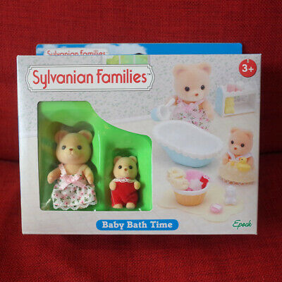 Sylvanian Families BABY BATH TIME Epoch UK Calico Critters