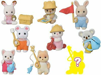 Sylvanian Families BABY EXPLORERS SERIES Whole 9 Set Epoch Japan Calico Critters