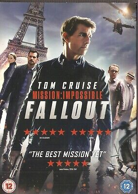 Mission Impossible: Fallout (DVD) Tom Cruise - Brand New & Sealed