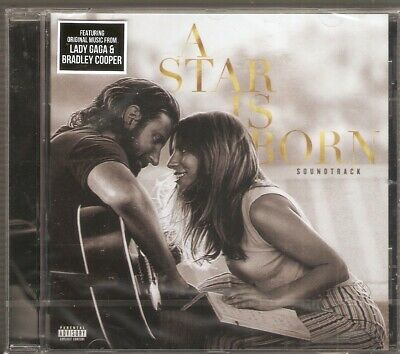 A Star Is Born OST - Lady Gaga/ Bradley Cooper (CD) Brand New & Sealed